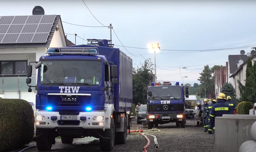 +++ GROSSE UNWETTERDOKU mit DOWNBURST aus FILDERSTADT & NEUHAUSEN +++ Feuerwehr & THW im Einsatz [E]