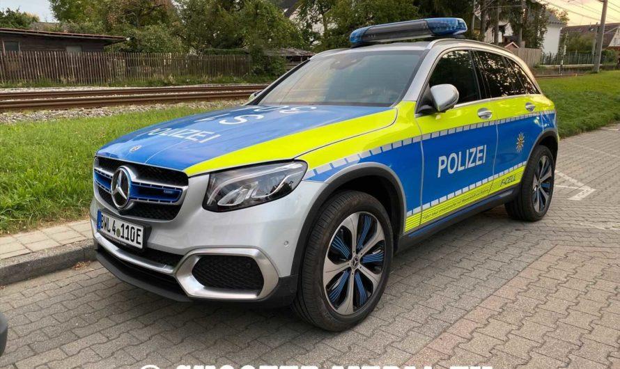 🚓NEUER FUNKSTREIFENWAGEN bei der POLIZEI STUTTGART – Mercedes EQC F-Cell🚓