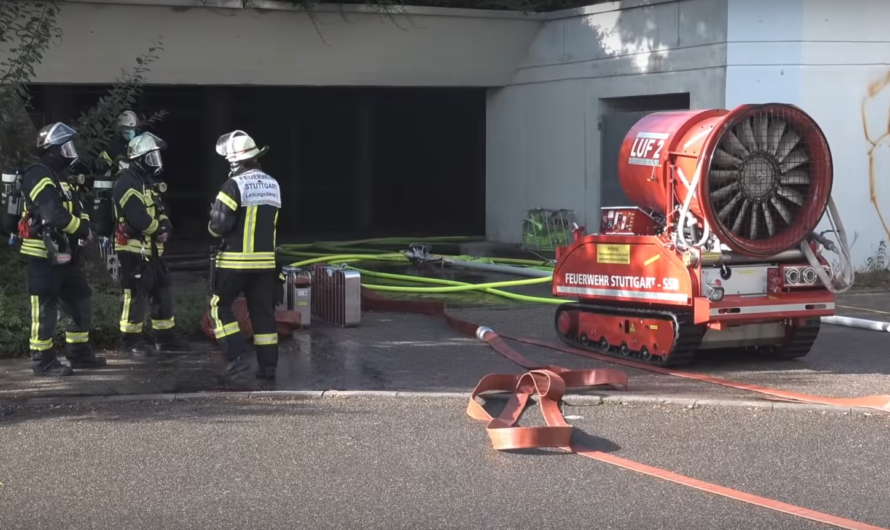 🚨🚨🚨 3. ALARM 🚨🚨🚨 [Tiefgaragenbrand] – Großeinsatz 🚒 Feuerwehr Stuttgart (Heumaden) [E]