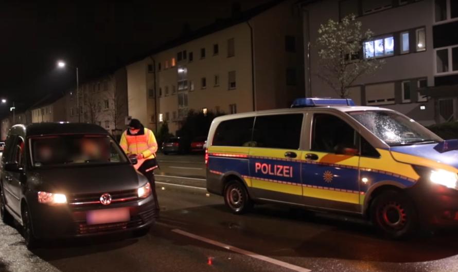 🚓🚓 POLIZEIKONTROLLEN in LUDWIGSBURG zur AUSGANGSBESCHRÄNKUNG 🚓🚓 – 1.500 PKW kontrolliert (LB)