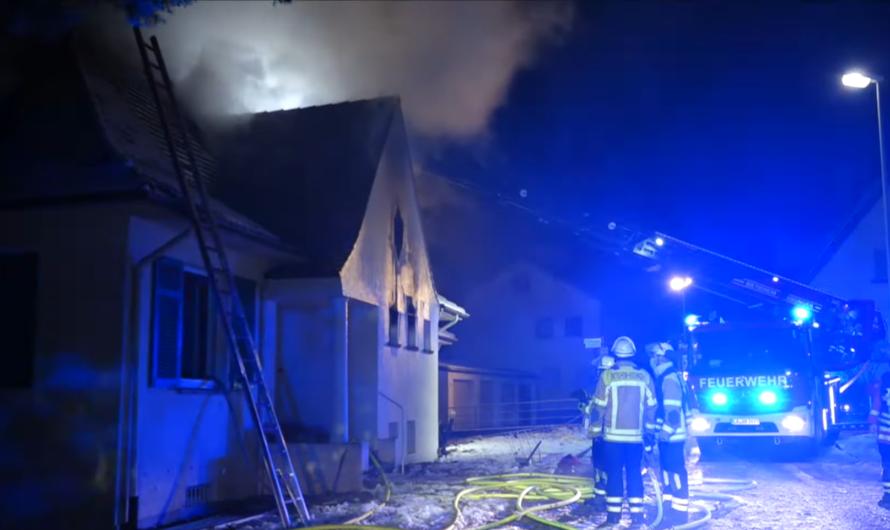 🔥 GEBÄUDEBRAND mit FLAMMEN & RAUCH 🔥 [🚒 Löscheinsatz für Feuerwehr Bietigheim-Bissingen 🚒] [E]