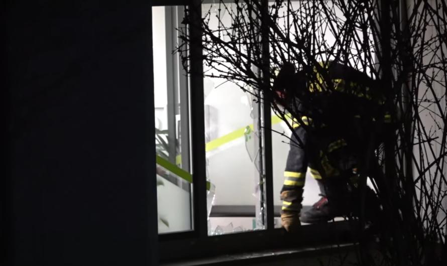 + FEUERALARM bei KREISSPARKASSE + Brand im Lichtschacht | Feuerwehr Plüderhausen [E]