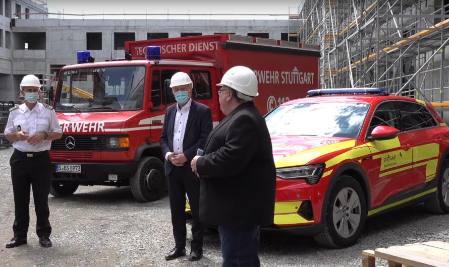 ++ NEUE FEUER- und RETTUNGSWACHE 5 [ROHBAU-FÜHRUNG] ++ 🚒 Feuerwehr Stuttgart (S-Möhringen)