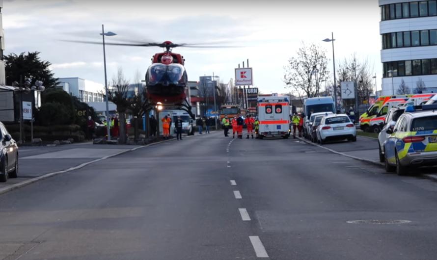 💥 EXPLOSION 💥 Briefbombe in LIDL-Zentrale explodiert – Großalarm & Großeinsatz in Neckarsulm [E]
