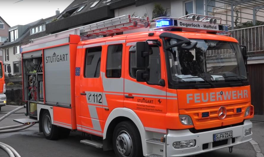 ++ 2. Alarm 🚨Kellerbrand in Degerloch   🚒 Feuerwehr Stuttgart löscht das Feuer mit 2 Rohren 🚒 ++