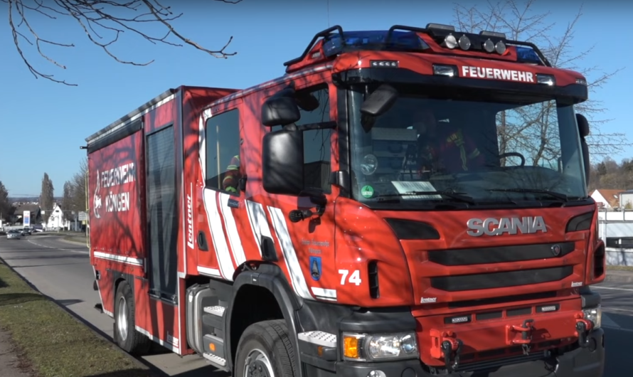 🚒 Feuerwehr Wernau + weitere Feuerwehren – Schwelbrand in Firma – Atemschutzeinsatz