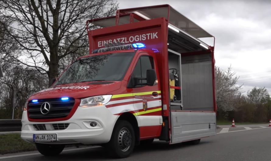 🚒 Freiwillige Feuerwehr Korb: Neuer GW-T (Gerätewagen Transport) 🚒