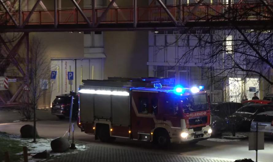 🚒 Feuerwehreinsatz in der Uniklinik Mannheim 🚨 viel Blaulicht 😍 [Archivdoku]