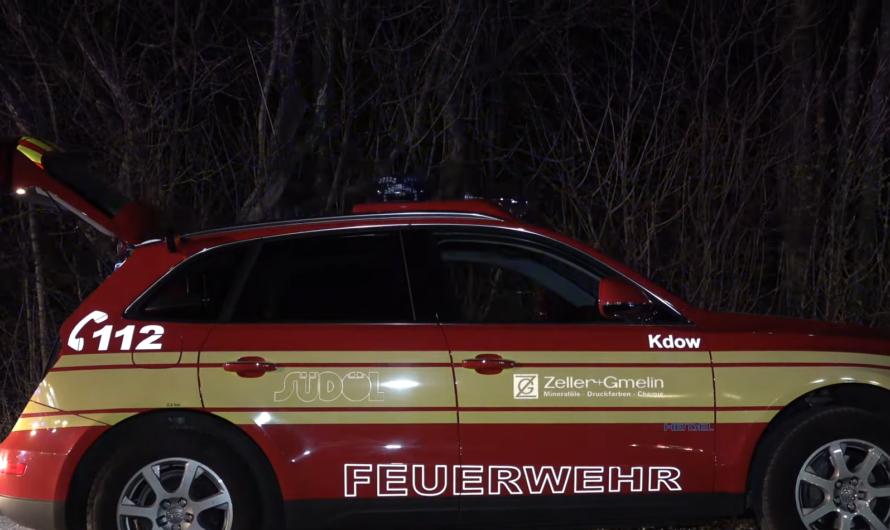 🆒 KdoW (Kommandowagen) 🚒 Werkfeuerwehr Zeller+Gmelin (SÜDÖL) Eislingen 😍 CarPorn bei Gruibingen