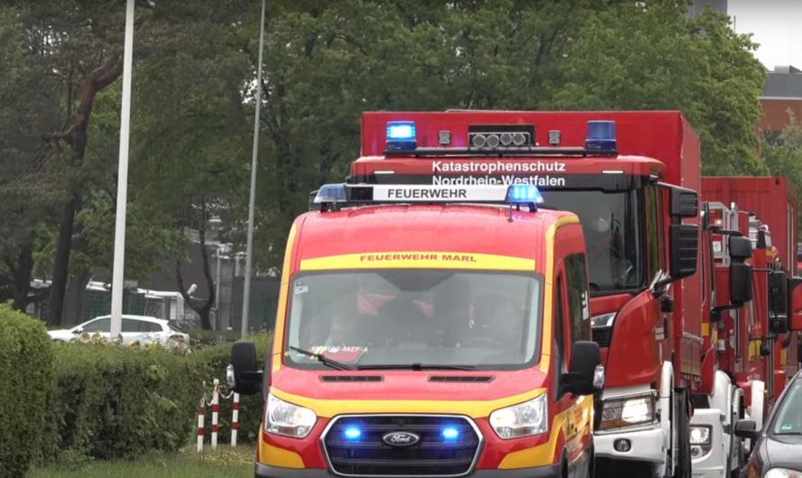 🚨 Fahrt im Verband 🚨 (Übung) = 🚒 Verbandsfahrt Feuerwehr Marl 🚒
