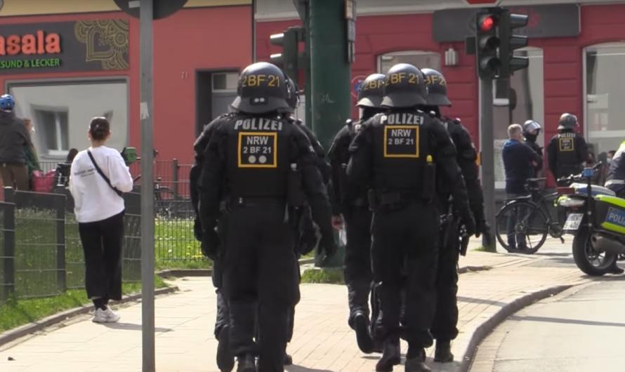 [1. Mai – Demos Essen] 👮♂️🚓 Großer Polizeieinsatz 🚓👮♂️ – Demonstrationen & Gegendemonstrationen