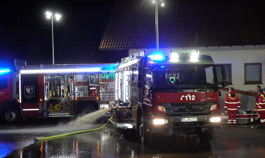 ❌ Mann ertrinkt in Wohnung | Wassermassen fluten Ellwangen (Rot an der Rot)🚒Großeinsatz Feuerwehr ❌