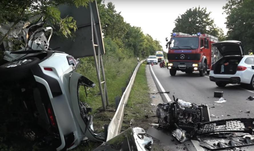 ⭕️ Massiver Frontalcrash ⏩ Eingeklemmter tödlich verletzt 🚒 Feuerwehr Möglingen + weitere Kräfte ⭕️