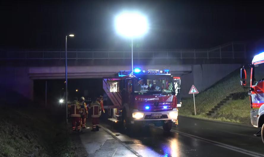 ⛈ Starkregen = Einsatz im Flughafentunnel 🚒 Flughafenfeuerwehr + Feuerwehr Filderstadt im Einsatz 🚒