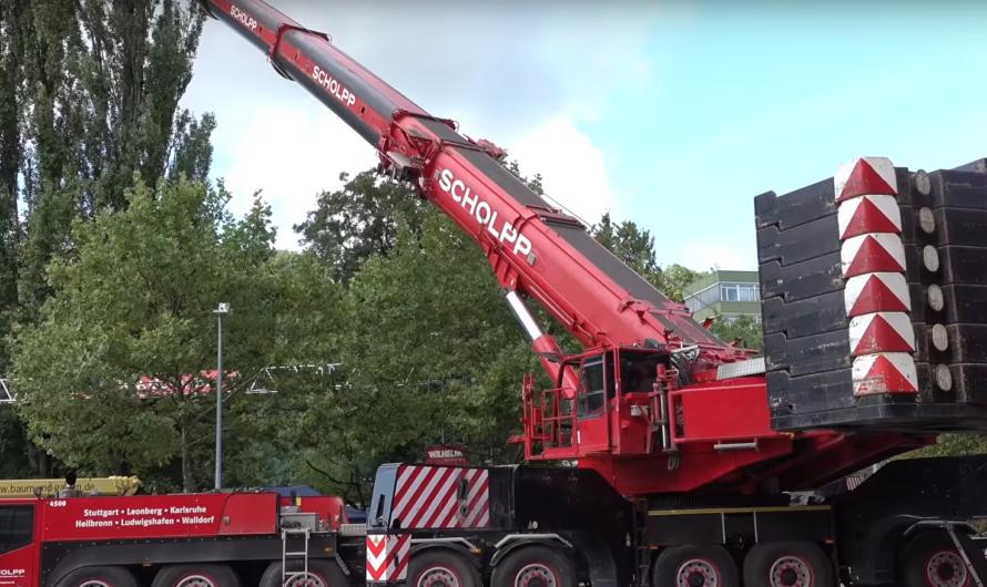 ❎ THW versetzt Brücke – 500 Tonnen Kran in Esslingen ❎ [ THW Pfedelbach – Widdern – Ostfildern]
