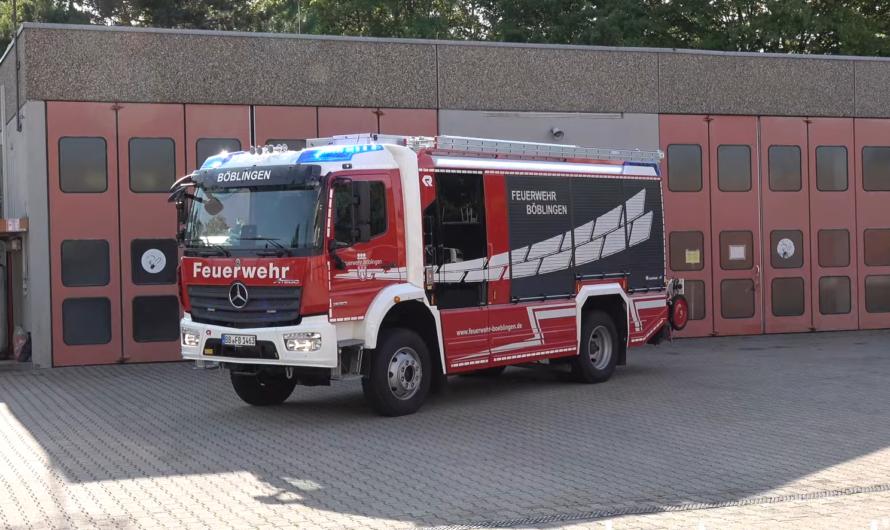 😍 Neuheiten 2021 😍: 🆕bei der Feuerwehr Böblingen 🚒 HLF 20 (+ LF 10) – WLF (Volvo) – Unimog Kran