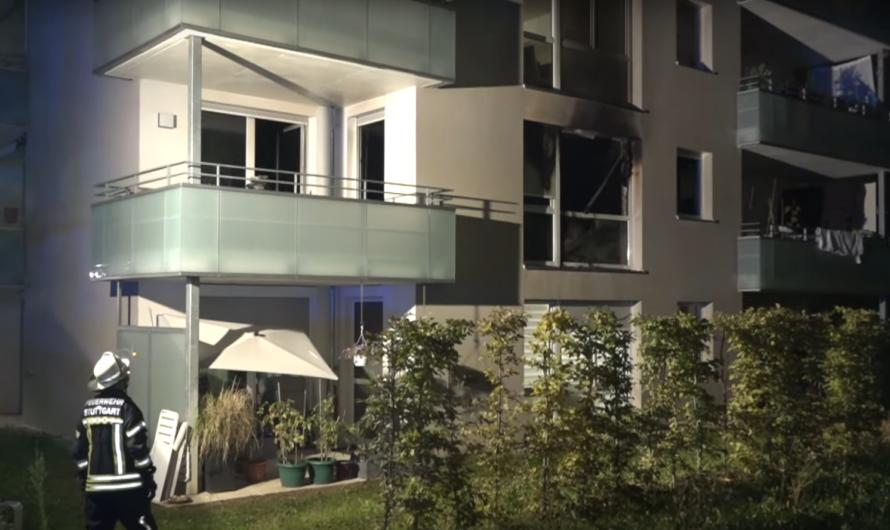 🔥 Tödlicher Brand 🔥 Wohnung im Vollbrand 🚒 Feuerwehr Stuttgart rettet mehrere Bewohner 🚒 🚑