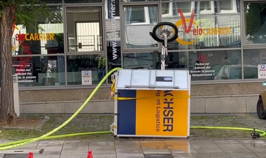 🚒🔋 Qualmender Akku von E-Bike sorgt für großen Aufwand für Feuerwehr Stuttgart 🔋🚒 ➕ Straßensperrung