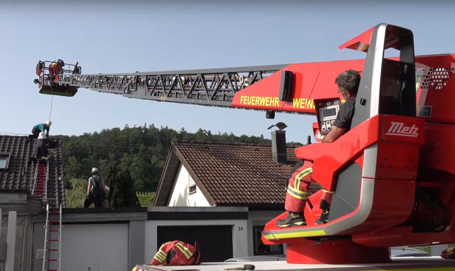 🔥Brand 🔥: Hitzetag fordert Feuerwehr Weinsberg 🚒 👨🚒 Feuerwehr Neckarsulm unterstützt 🚒