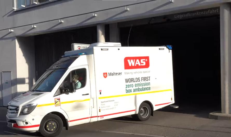 🚑 E-RTW von WAS | 🚑 Test-Rettungswagen bei den Malteser Stuttgart 🚑