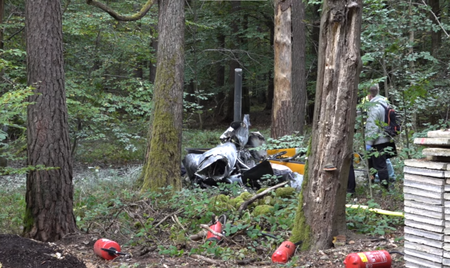 🔴 3 Tote nach Hubschrauberabsturz 🔴 🚒 Einsatzkräfte Feuerwehr Buchen 🚒 + Polizei 🚓 + BFU im Einsatz